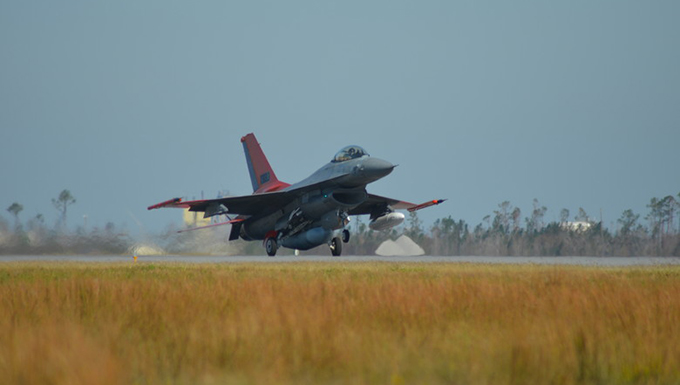 QF-16 delivered to Tyndall