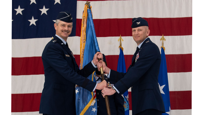 Col. Jay Johnson assumes command of Vance AFB