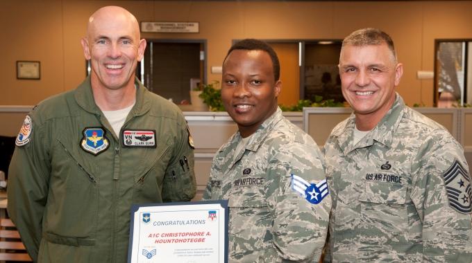 2 Vance Airmen earn BTZ